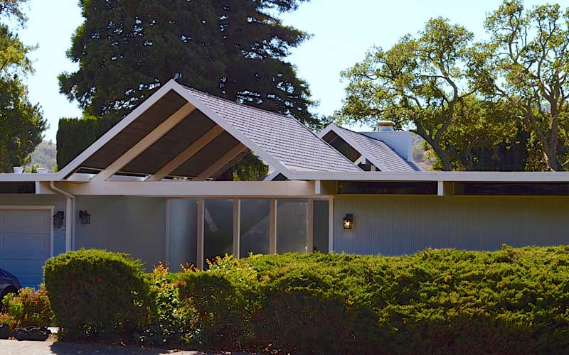 Shingle roof Marin County Eichler Lucas valley