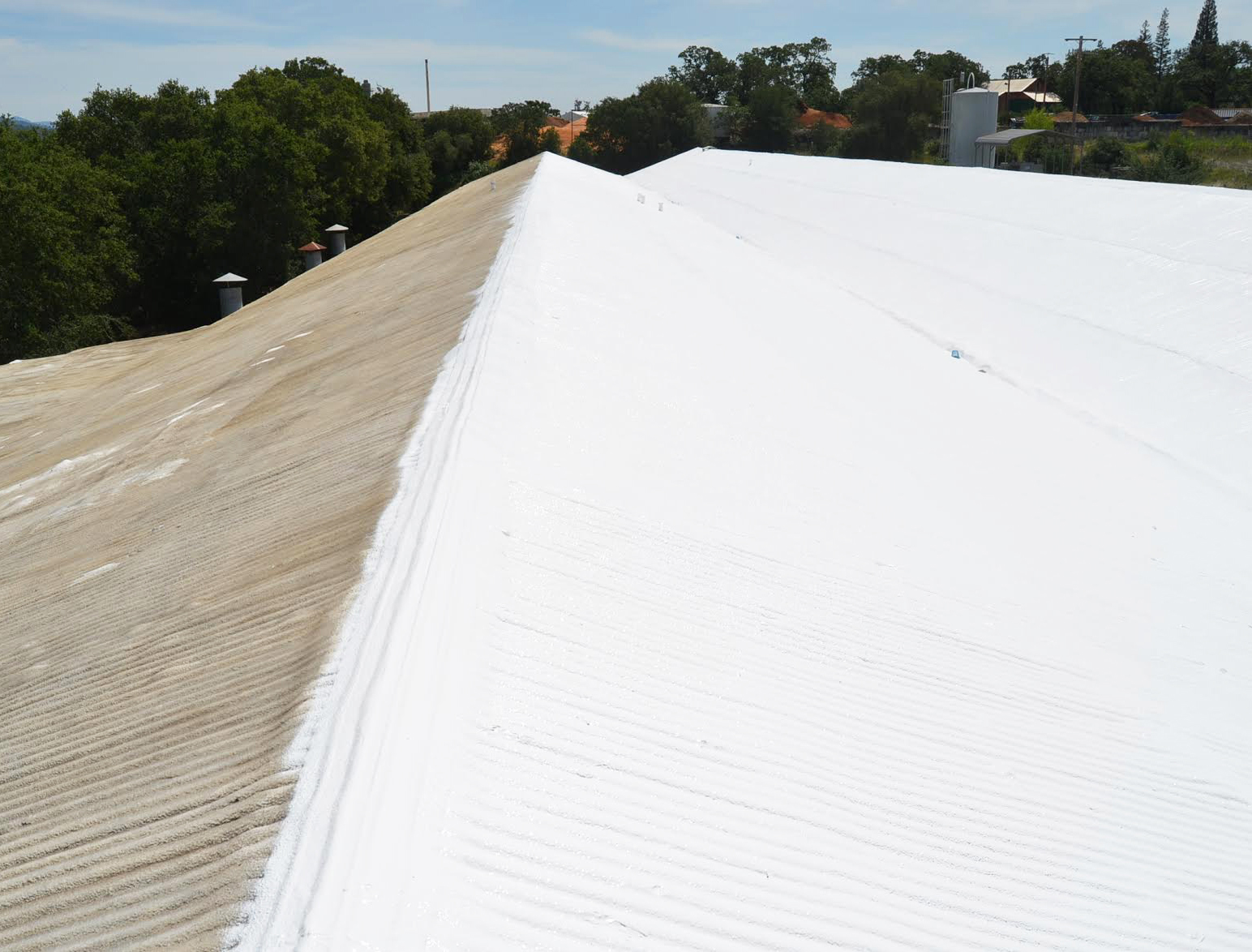 Eco roof services wedge roofing marin roofing company for Energy efficient roofing