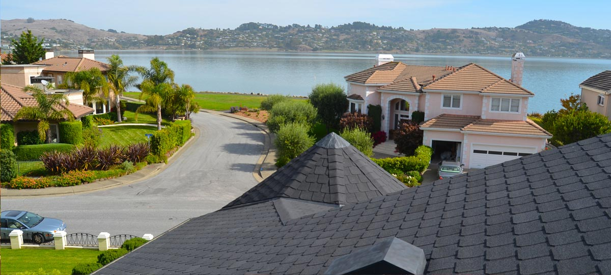 Marin County roofing contractor Wedge Roofing shingle roof Owens Corning