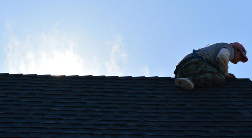 Residential roof replacement in Marin County