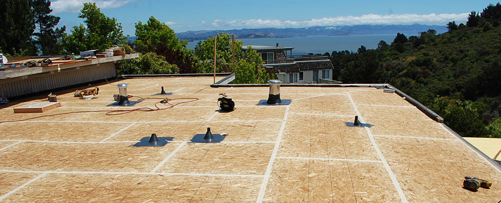 reroofing Marin County roof replacement in Sausalito, CA