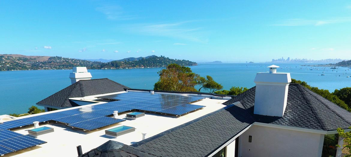 shingle foam solar roofing marin sf