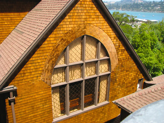 Cedar shingle siding installation repair in marin county for Allure cement siding