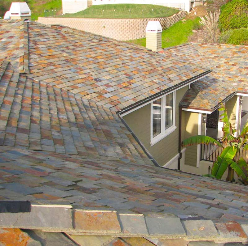 Slate Roofing by Wedge Roofing Sonoma County, Marin, SF, Napa