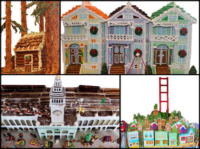 Holiday Gingerbread Houses SF Bay Area