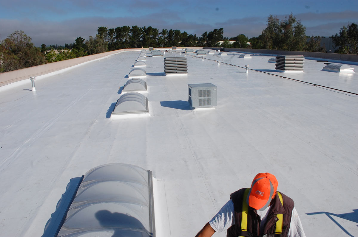 ... San Francisco Bay Area Roof Industrial Title 24 Single Ply TPO ...