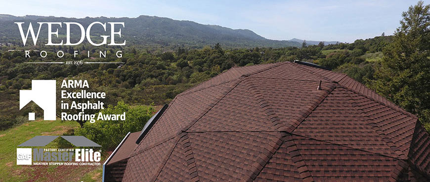 Sonoma Dome Shingle Roof