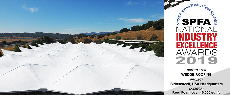 Best-Spray-Foam-Roofing-Award-Marin-County