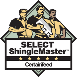 Certainty Select Shingle Master Contractor, Marin, San Francisco, Sonoma, Napa