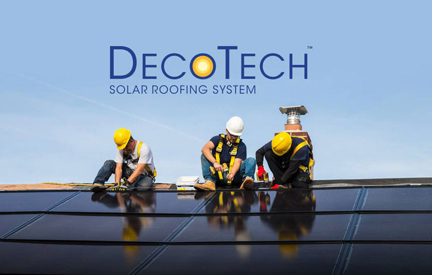 GAF DecoTech Solar Roof Integrated Systems