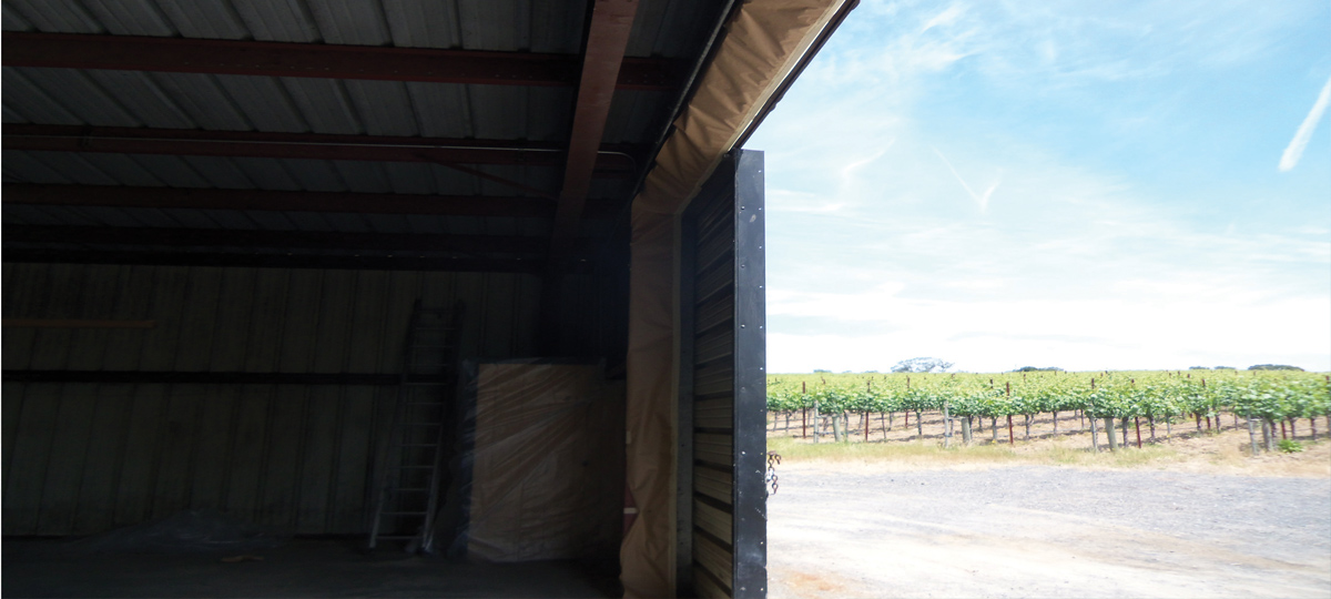 Napa Valley Vineyard Insulation by Wedge Roofing