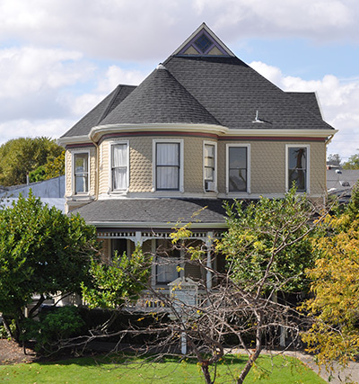 petaluma victorian shingle roof