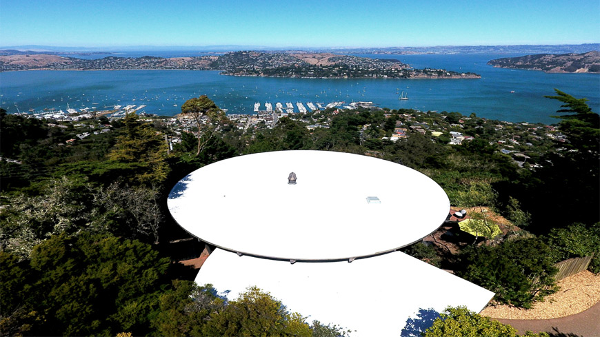Marin County Spray Foam Roofing Sausalito Round House