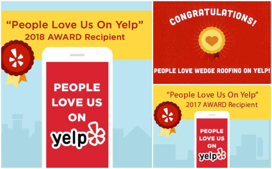 San Francisco Bay Area Roofing Contractor Receives Yelp