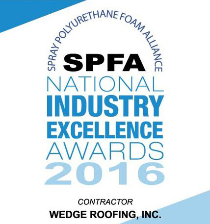 Marin, SF, & Sonoma Roofing Contractor wins National Spray Foam Roofing Award