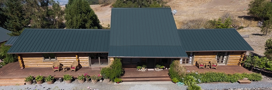 Metal Roofing Contractor Award Marin County, Sonoma County, San Francisco, Napa