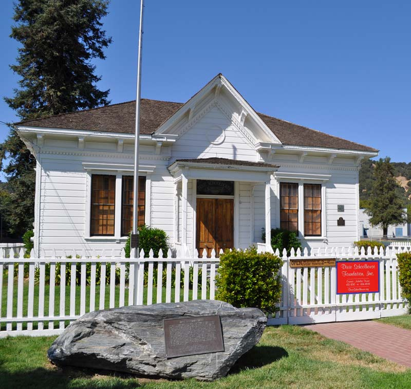 Dixie Schoolhouse Historical Roof Marin County, Marin historic building