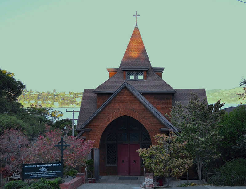 Sausalito Presbyterian Church Historical Roof Restoration
