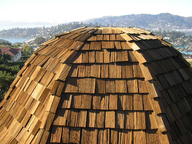wood shake roof Marin County CA