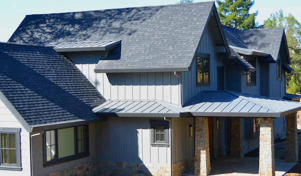 Marin County Metal Roof And Shingle Roof Combination Is A