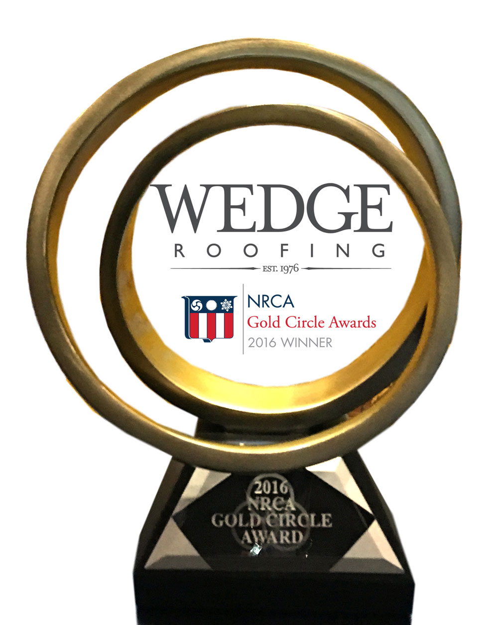National Best Spray Foam Roofing Award For Wedge Roofing