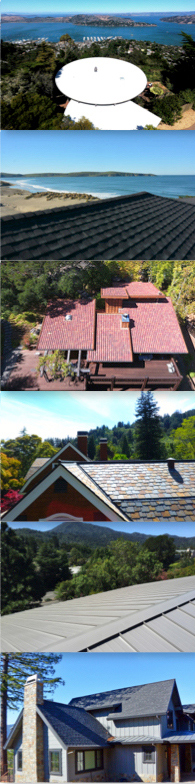 Top roofs Marin County