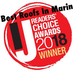 Best Roofing Contractor Marin County Award 2018