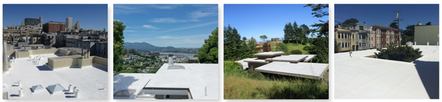 gray roof coatings Marin County
