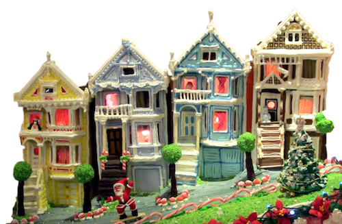 San Francisco Victorian Gingerbread Roofs