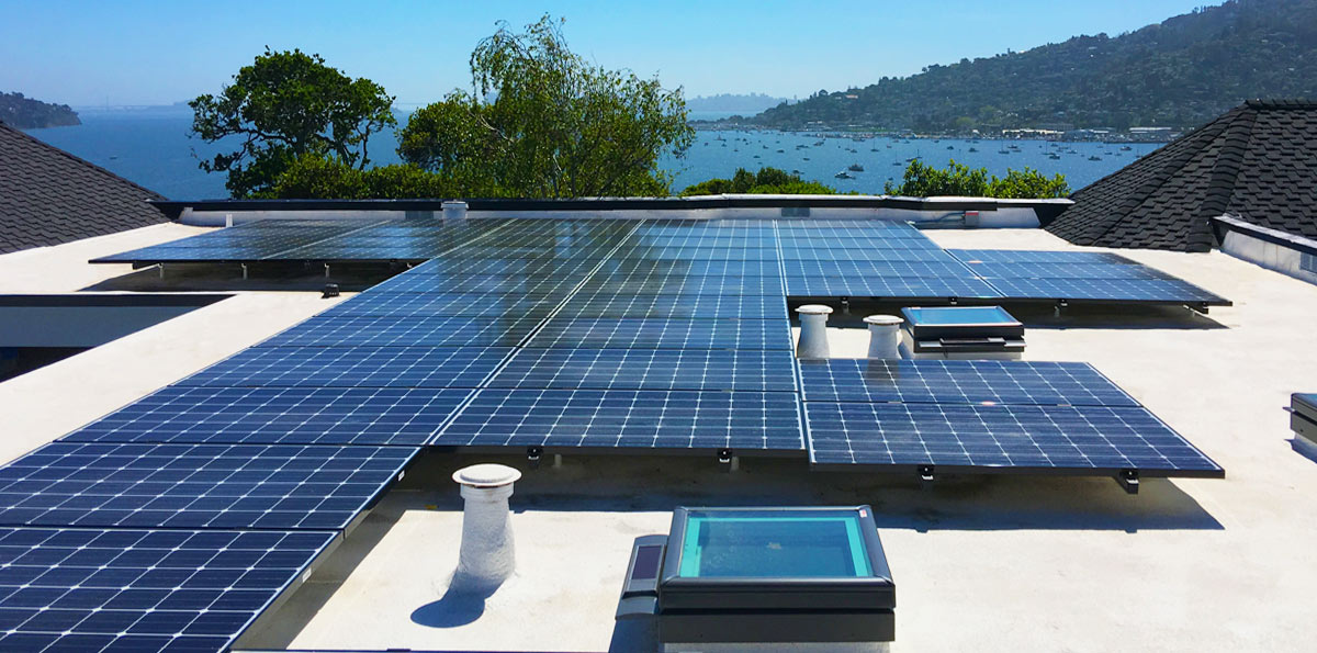 Marin County Solar Spray Foam Roofing