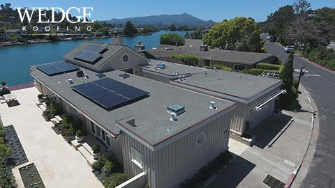 Belvedere - Marin County Spray Foam Roof & GAF Ultra-HD Shingles