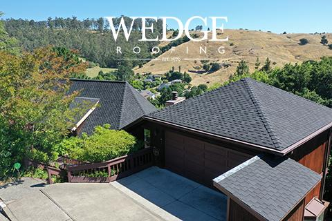 GAF Grand Sequoia Shingle Roof Marin County