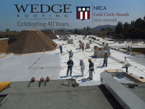 Marin County Spray Foam Roof Installation