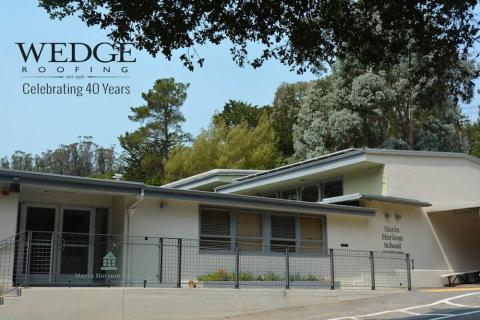 Spray Foam Roof Installation/Marin County School/Mill Valley, CA