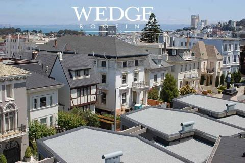 Flat Roofing/San Francisco Pacific Heights HOA