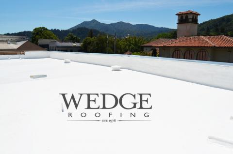Marin County Commercial Spray Foam Roof San Anselmo CA