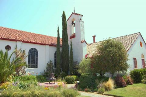 Clay Tile Roof Repairs/Marin County Church/San Rafael, CA