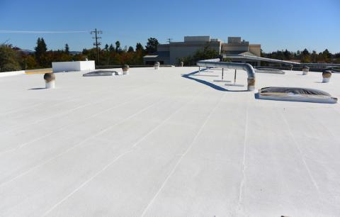 Cool Roof Coating Sonoma County Industrial Building