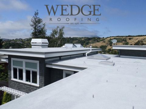 Marin County Spray Foam Roof Tiburon CA