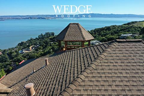 GAF Timberline Shingle Roof Installation Tiburon, CA