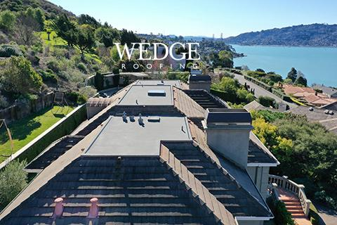 Flat Spray Foam Roof Installation Tiburon, CA