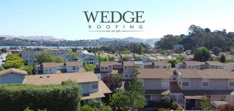 Shingle Roof Installation/Marin County Condominiums/ Sausalito,CA