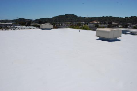 Spray Foam Roof San Rafael Marin County