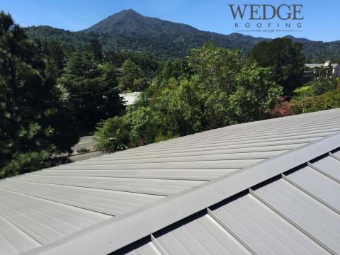 Metal Roof Installation/Marin County/ Kentfield, CA