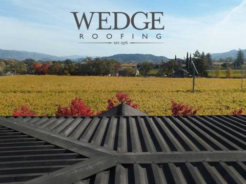 Roof Repairs & Maintenance Napa Valley Winery