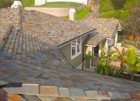 Slate Roof/Sonoma County