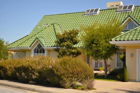 Glazed Clay Tile Roof/Marin County