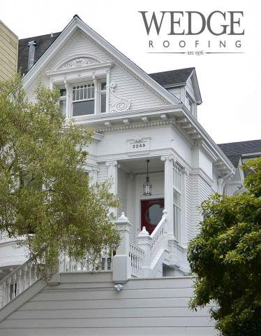San Francisco Queen Anne Victorian GAF Shingle Roof