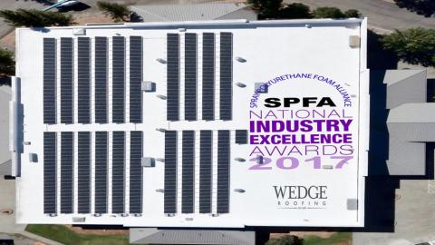 2017 Best Spray Foam Roof Nationwide Award