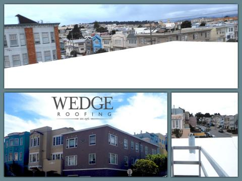 San Francisco Commercial Spray Foam Roof